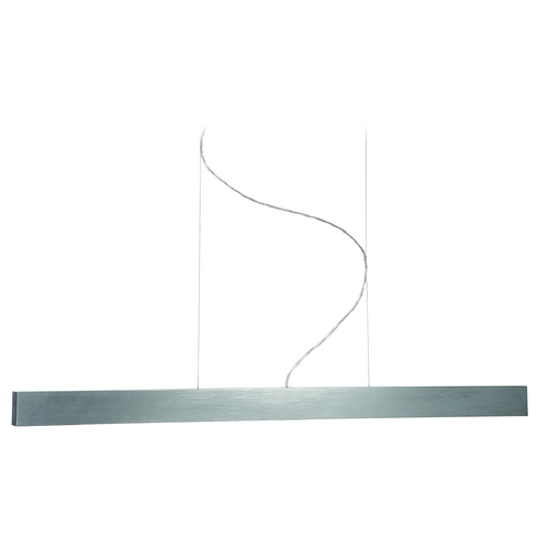 Philips Lighting Modern Pendant Light in Aluminum Finish 403414848