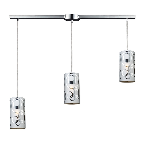 Elk Lighting Modern Multi-Light Pendant Light 3-Lights 31076/3L
