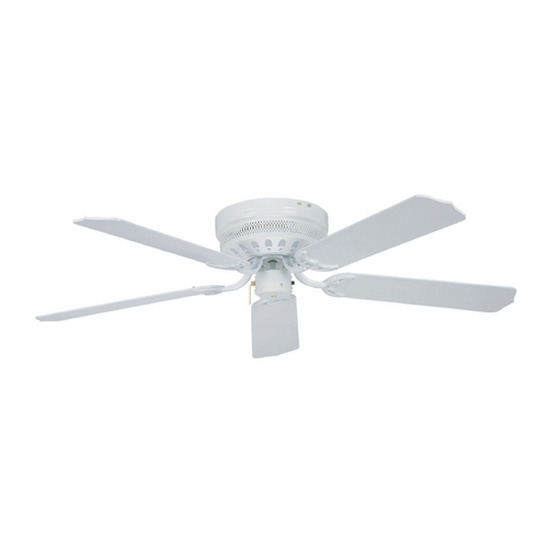 Ellington Fans Ceiling Fan Without Light in White Finish CU52WW5