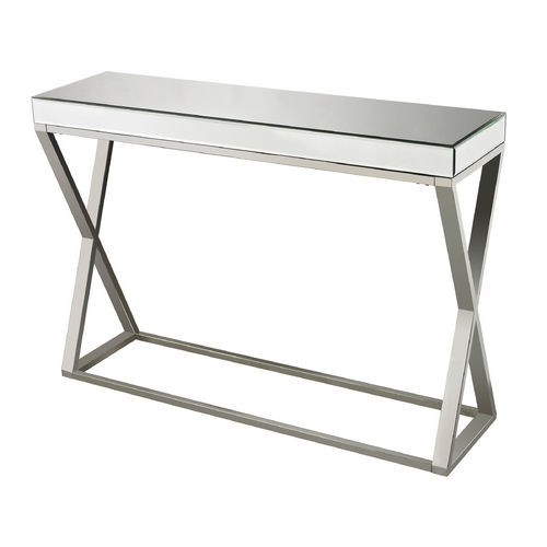 Sterling Lighting Sterling Lighting Clear / Chrome Sofa Table 114-43