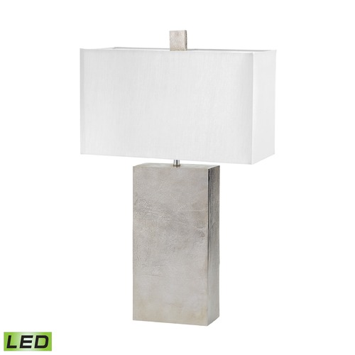 Dimond Lighting Dimond Lighting Nickel LED Table Lamp with Square Shade 178-032-LED