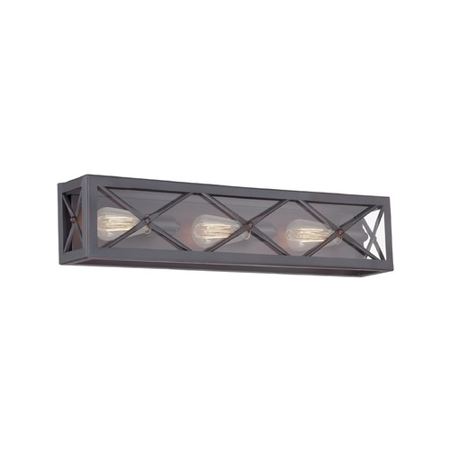 Designers Fountain Lighting Designers Fountain High Line Satin Bronze Bathroom Light 87303-SB
