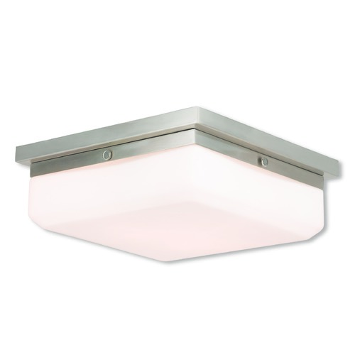 Livex Lighting Livex Lighting Allure Brushed Nickel Flushmount Light 65537-91