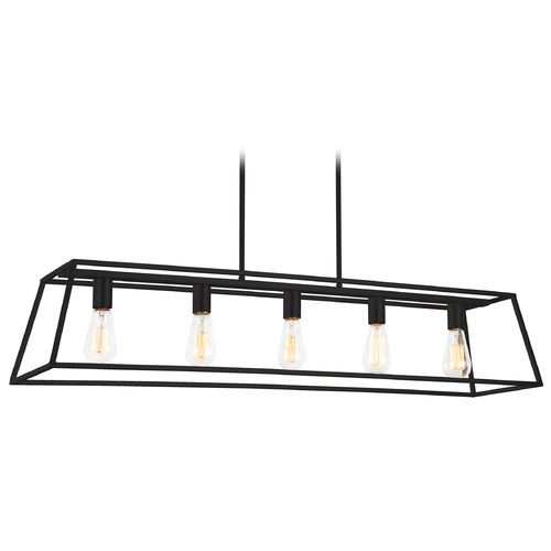 Matteo Lighting Matteo Lighting Candor Rusty Black Chandelier C57015RB
