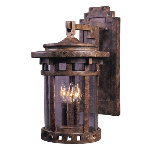 Maxim Lighting Maxim Lighting Santa Barbara Vx Sienna Outdoor Wall Light 40035CDSE