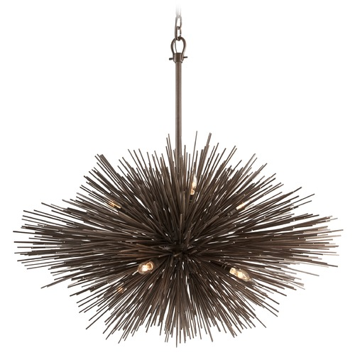 Troy Lighting Tidepool Bronze Pendant Light  F3668 KIT W/LED CANDELABRA BULBS