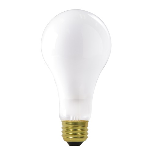 Satco Lighting Incandescent A21 Light Bulb Medium Base 2700K Dimmable S3945