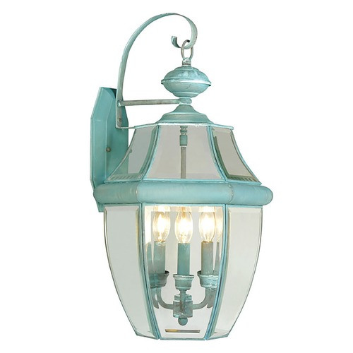 Livex Lighting Livex Lighting Monterey Verdigris Outdoor Wall Light 2351-06