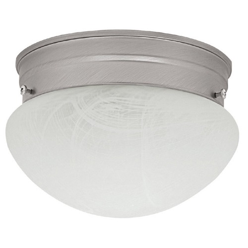 Capital Lighting Capital Lighting Matte Nickel Flushmount Light 5678MN