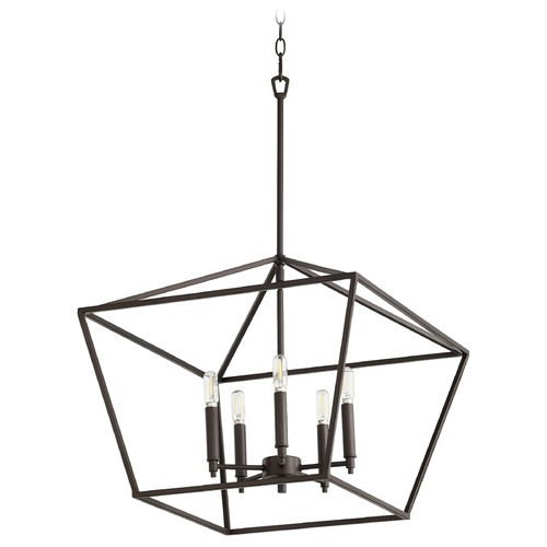 Quorum Lighting Quorum Lighting Gabriel Oiled Bronze Pendant Light 644-5-86