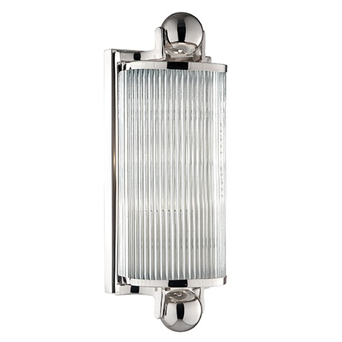 Hudson Valley Lighting Mclean Polished Nickel Bathroom Light 851-PN