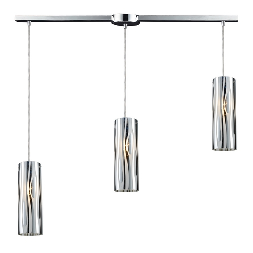 Elk Lighting Modern Multi-Light Pendant Light 3-Lights 31078/3L