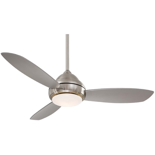 Minka Aire 52-Inch Ceiling Fan with Three Blades and Light Kit F517-BN