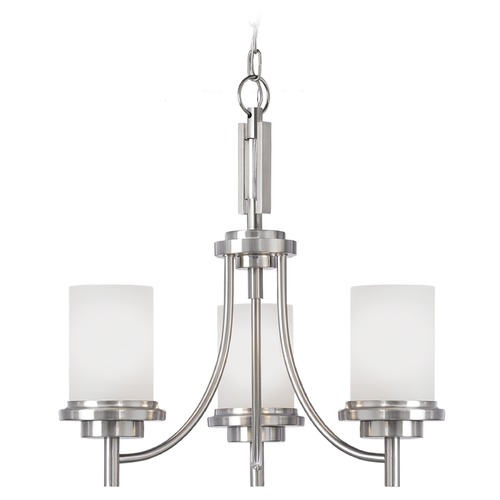 Sea Gull Lighting Sea Gull Lighting Winnetka Brushed Nickel Mini-Chandelier 31660-962