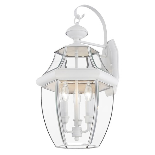 Livex Lighting Livex Lighting Monterey White Outdoor Wall Light 2351-03