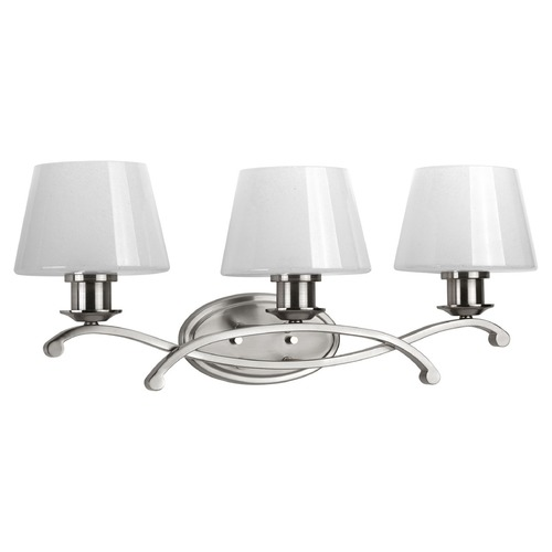Progress Lighting Progress Lighting Dazzle Brushed Nickel Bathroom Light P2052-09