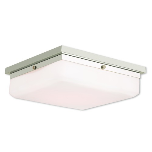 Livex Lighting Livex Lighting Allure Polished Nickel Flushmount Light 65538-35