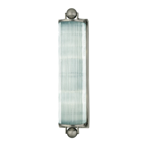 Hudson Valley Lighting Mclean Antique Nickel Bathroom Light 852-AN