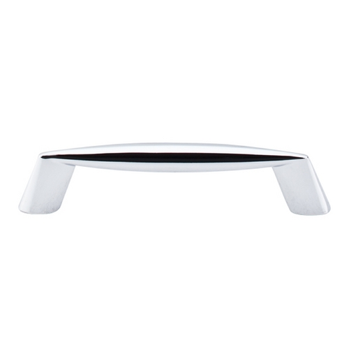 Top Knobs Hardware Modern Cabinet Pull in Polished Chrome Finish M568