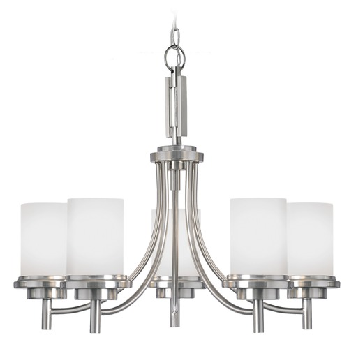 Sea Gull Lighting Sea Gull Lighting Winnetka Brushed Nickel Chandelier 31661-962