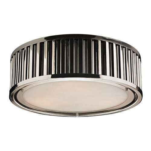 Elk Lighting LED Flushmount Light in Polished Nickel Finish 46101/3-LED