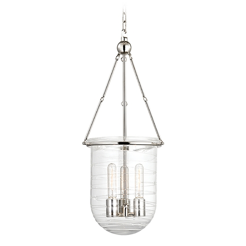 Hudson Valley Lighting Hudson Valley Lighting Willet Polished Nickel Pendant Light 213-PN