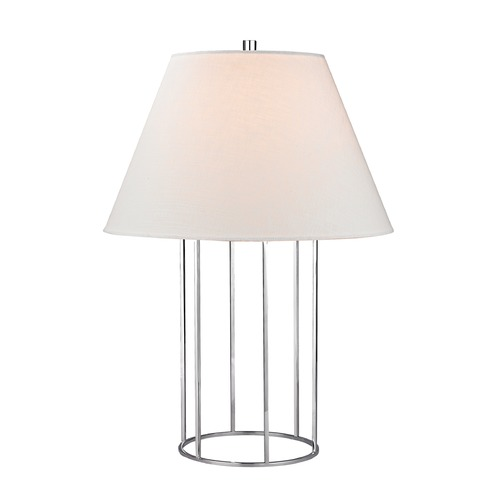 Dimond Lighting Dimond Lighting Chrome Table Lamp with Empire Shade D2588