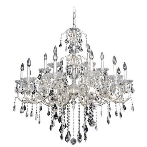 Allegri Lighting Praetorius 18 Light Crystal Chandelier w/ French Gold 24k 023151-011-FR001