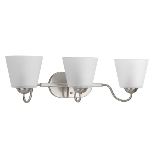 Progress Lighting Progress Lighting Arden Brushed Nickel Bathroom Light P2129-09