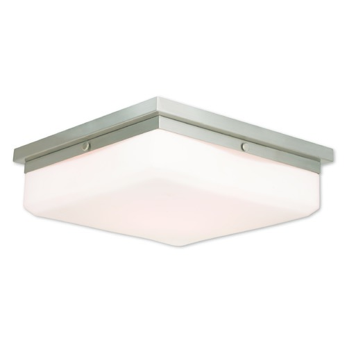 Livex Lighting Livex Lighting Allure Brushed Nickel Flushmount Light 65538-91