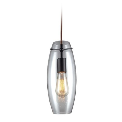 Elk Lighting Elk Lighting Menlow Park Vintage Mini-Pendant Light with Clear Glass 60044-1
