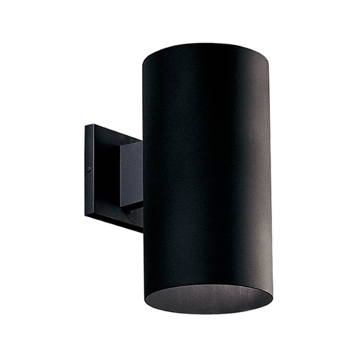 Progress Lighting Progress Modern Outdoor Wall Light in Black Finish P5641-31