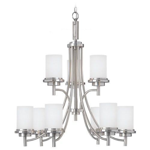 Sea Gull Lighting Sea Gull Lighting Winnetka Brushed Nickel Chandelier 31662-962