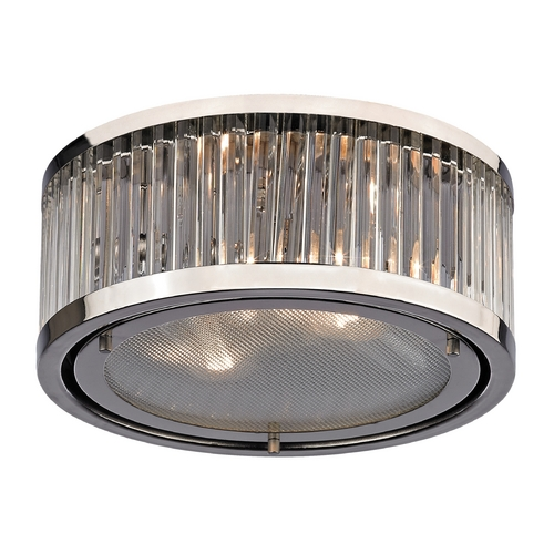 Elk Lighting Flushmount Light in Polished Nickel Finish 46102/2