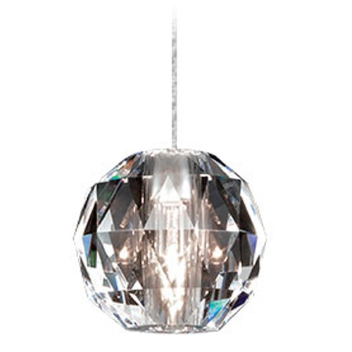 WAC Lighting Wac Lighting Crystal Collection Chrome Track Light Head QP930-CL/CH