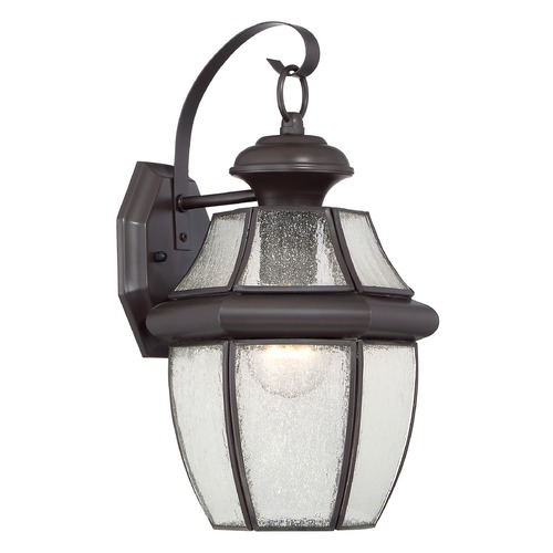 Quoizel Lighting Quoizel Newbury Medici Bronze Outdoor Wall Light NY8409Z