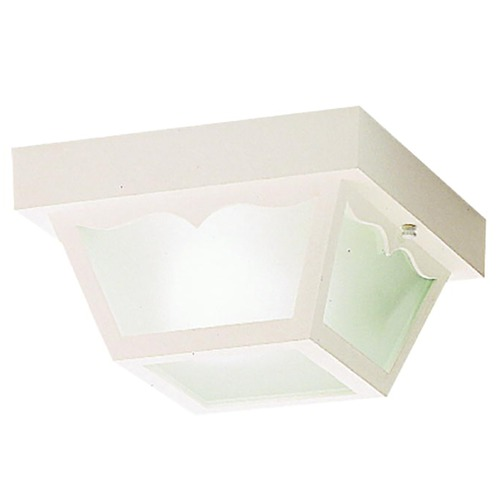 Kichler Lighting Kichler Close To Ceiling Light with White in White Finish 9320WH