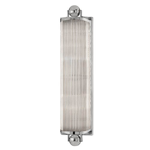 Hudson Valley Lighting Mclean Polished Nickel Bathroom Light 852-PN