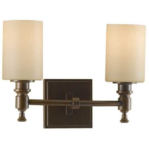 Feiss Lighting Modern Bathroom Light in Heritage Bronze Finish VS16102-HTBZ