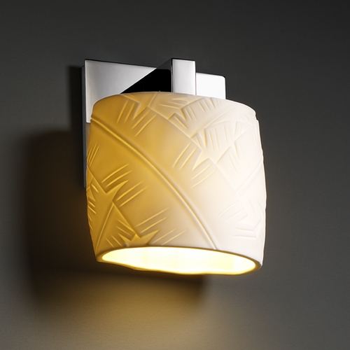 Justice Design Group Justice Design Group Limoges Collection Sconce POR-8931-30-BANL-CROM