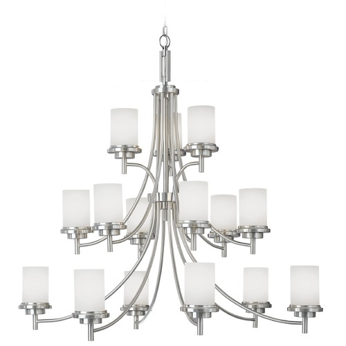 Sea Gull Lighting Sea Gull Lighting Winnetka Brushed Nickel Chandelier 31663-962