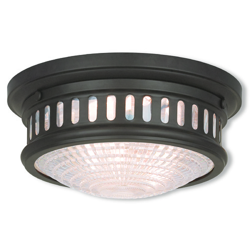 Livex Lighting Livex Lighting Berwick Bronze Flushmount Light 73051-07