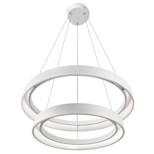 Elan Lighting Elan Lighting Fornello Sand Textured White LED Pendant Light 83199