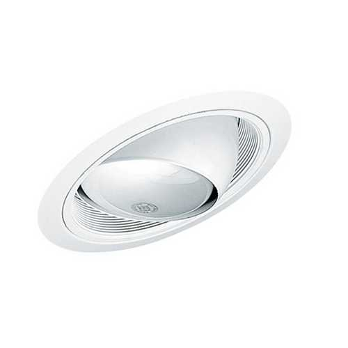 Juno Lighting Group Juno Recessed Eyeball Trim for Standard Slope Housing 619 BWH