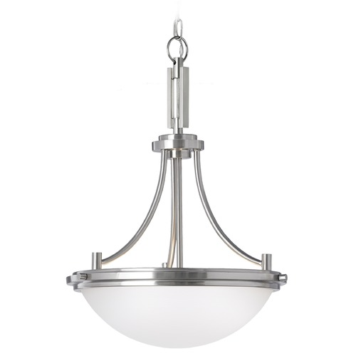 Sea Gull Lighting Sea Gull Lighting Winnetka Brushed Nickel Pendant Light 65661-962
