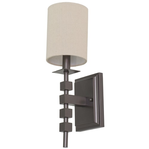 House of Troy Lighting House Of Troy Lake Shore Mahogany Bronze Wall Lamp LS204-MB