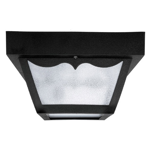 Capital Lighting Capital Lighting Black Close To Ceiling Light 9237BK