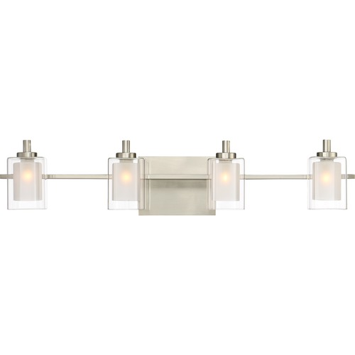 Quoizel Lighting Quoizel Lighting Kolt Brushed Nickel LED Bathroom Light KLT8604BNLED