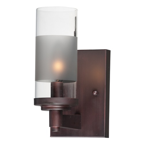 Maxim Lighting Maxim Lighting Crescendo Oil Rubbed Bronze Sconce 26321CLFTOI