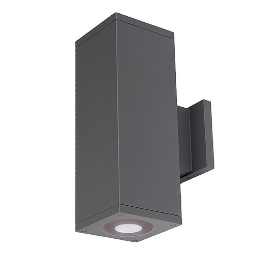 WAC Lighting Wac Lighting Cube Arch Graphite LED Outdoor Wall Light DC-WD05-U840B-GH